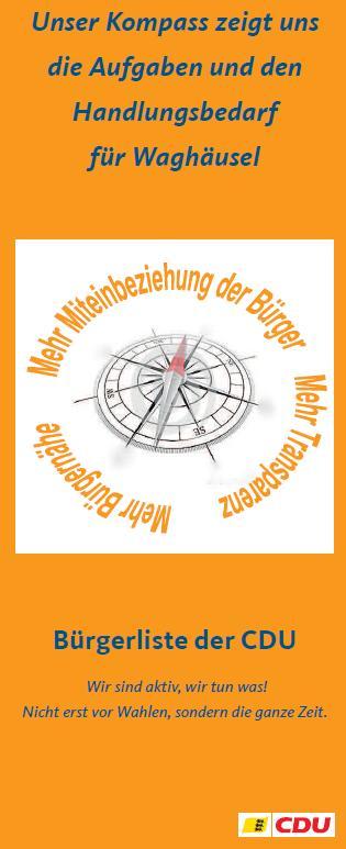 CDU Waghäusel / Classic / Aktuelles